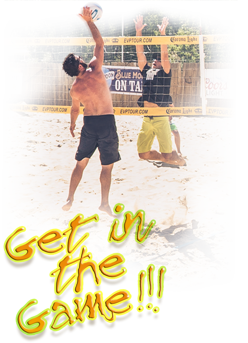 Get into the game at The Island Volleyball!
